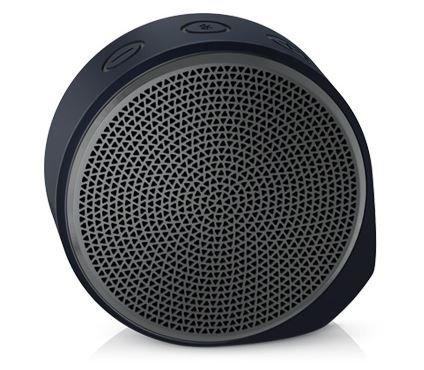 Logitech X100 Bluetooth Wireless Speaker (Black and Grey)