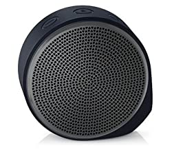 Logitech X100 Wireless Bluetooth Speaker (Black and Grey)