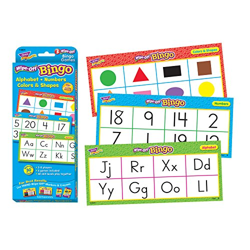 Alphabet, Numbers, Colors & Shapes