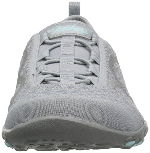 Skechers Breathe-easy fortune Damen Sneakers Grey Knit