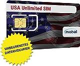 SIM Karte für die USA: Unbegrenzt mobiles Internet & SMS. Einen Monat, nur 43 Euro