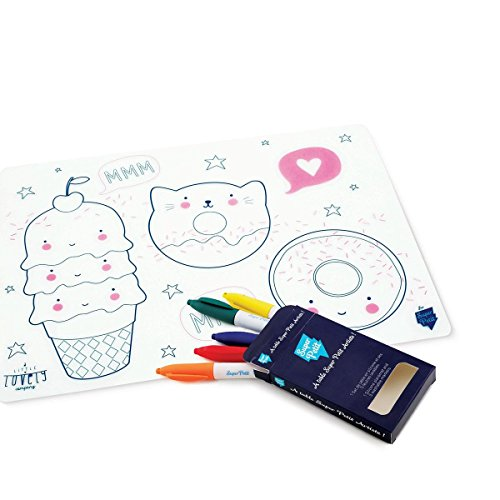 superpetit A Little Lovely Company Special Edition Tisch-Sets Funmeal