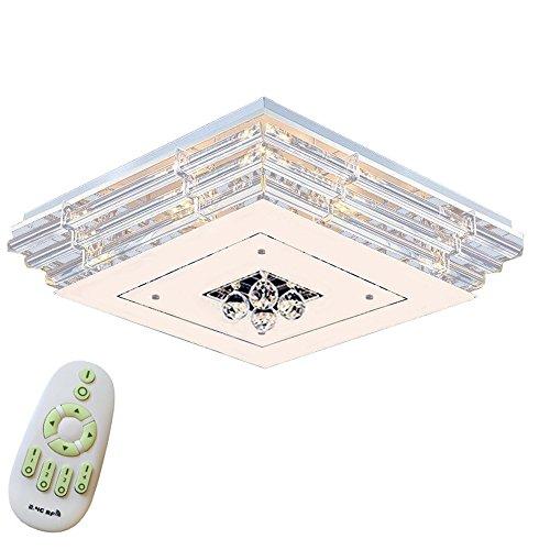 MCTECH® 36W/48W/72W/90W/108W kristall Deckenleuchte Deckenbeleuchtung Deckenlampe Pendelleuchte LED Lampe Hängelampe