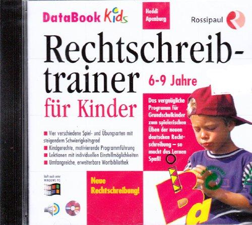 Rechtschreibtrainer für Kinder. CD- ROM für Windows ab 3.1/95