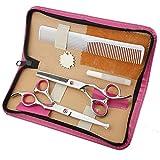 walmics Baby Haar Schere, 15,2cm Set Profi Effilierschere Friseur Schere Kit, für Kinder, Kinder, Infant, Scheren Equipment Werkzeug