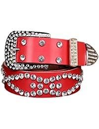29f9c135c601 Femmes strass Keather ceinture - BZLine Atlas Western Cowgirl Bling ceinture-  107 × 3,