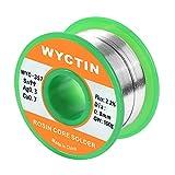 Wyctin 357 0.8 mm sans plomb Fil à souder SN 99-ag 0.3-cu 0,7 Tin Enrouleur avec Colophane Core, 0,1 kilogram (100g)