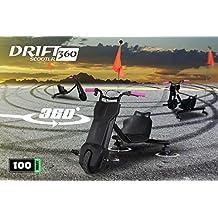 Niños eléctrico Drift Triciclo Drift Scooter–Patinete 360 negro