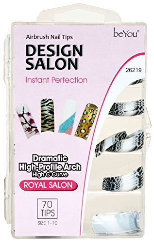 BEAUTIQUE Professional Glue-On Design Nails - BQ26219