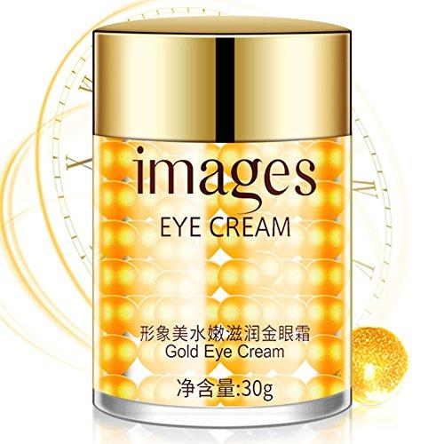 Goldene Augencreme gegen falten und augenringe,anti aging Augencreme mit Feuchtigkeitsspendende Essenz