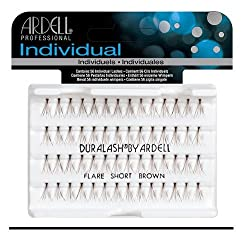 Ardell Individual Lashes, Flare Short Brown