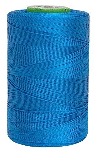 Telephone Threads Maschine Art Seidengarne 680 Mtr 2 Ply Teal Blau Faden Stickerei Packung mit 10 Stück -
