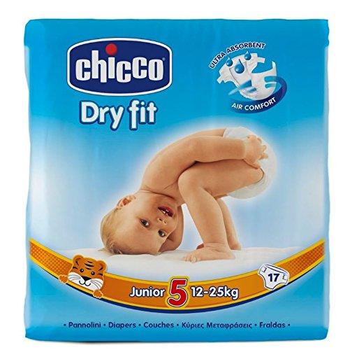 Chicco Dry Fit-Pannolini Junior, confezione Maxi