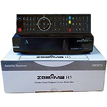 Zgemma H5 è un decoder Zgemmastar-H5 Combo HD per la Tv SAT e Digitale Terrestre e IPTV, compatibile HEVC H265, con tuner DVB-T2 e DVB-S2