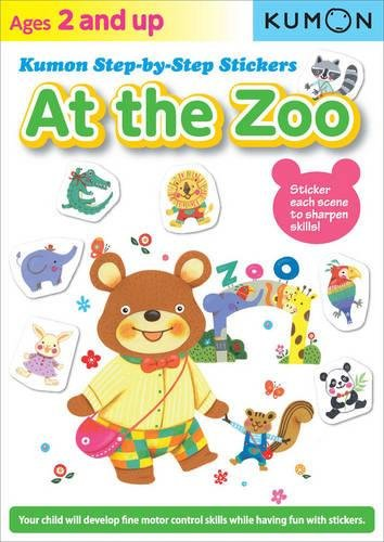 At the Zoo (Kumon Step By Step Stickers)