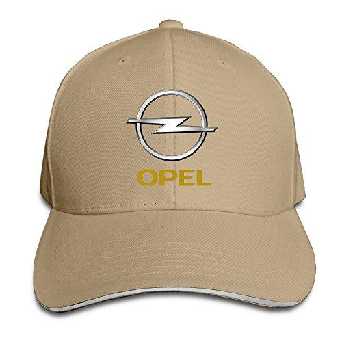 teenmax-unisex-opel-logo-sandwich-peaked-baseball-cap