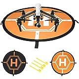 Neewer Quadcopter Ladungspad schnell-faltbar Helipad für RC Drones Hubschrauber DJI Phantom 2/3/4/4 Pro, Inspire 2/1, Yuneec Typhoon, 3DR Solo, GoPro Karma, Antel Roboter X-Star (110 Zentimeter)