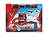 MIKADELO Disney Pixar Cars 2 Toy Racing Track Parking Garage - 29 Pieces
