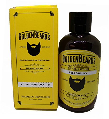 Golden Beards - Champú para Barba (100ml)