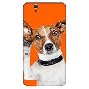 Bhishoom Designer Printed Back Case Cover for Sony Xperia C4 Dual :: Sony Xperia C4 Dual E5333 E5343 E5363 (Dog :: Animal :: Cute :: Puppy :: 3D)