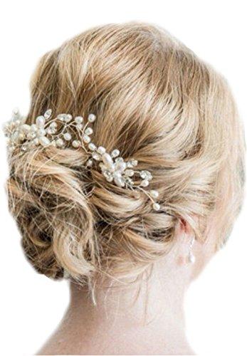 Haarnadeln Strass Perlen Haarschmuck Brautschmuck Hochzeit Kommunion Taufe Braut