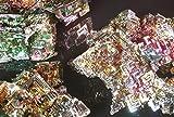 Bismut Wismut-Kristall Riesig! 300Gramm Kristallstufe-Stufe Nugget Mineralien Sammlung EXTREM Selten! Weltweit Einzigartig!!! (Bergkrstall, Obsidian, Edelsteine, Bergbau, Achat, Turmalin)