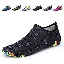 Santiro Unisexe Homme Femme Chaussures pour Nager et pour Tous Les Sports de Plage et d'eau.