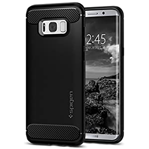 Spigen Rugged Armor Case for Samsung Galaxy S8 Plus (Black_571CS21661)