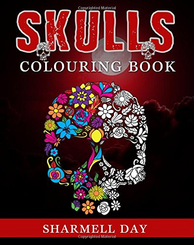 Skulls: Colouring Book