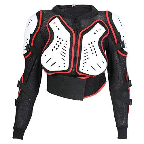 Texpeed - Kinder Motorradjacke für Motocross/Enduro/Sport mit Protektoren - 152cm - 12 Jahre
