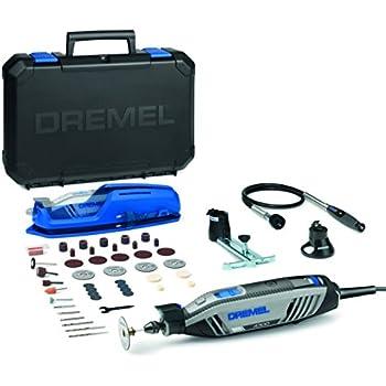 Dremel 4000 Rotary Tool 175 W, Rotary Multi Tool Kit with 1