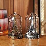 youjiu Suerte Mopec Decorativas Torre De París Iluminación Adornos Decoración del Hogar Luminoso