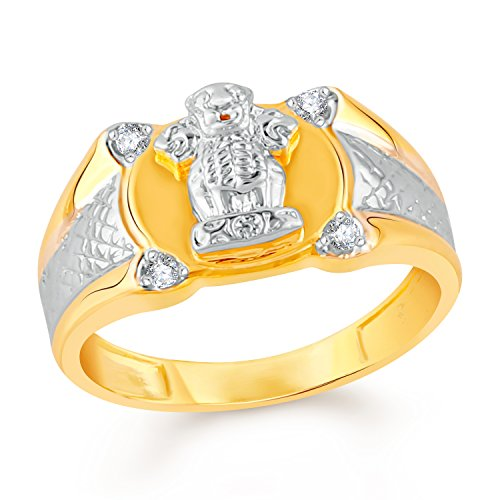 ea347fd6cf6 This Vidhi Jewel is made up of Brass. Traditional Rings for Men & Boys.  National Symbol Rings. Gold Plated.