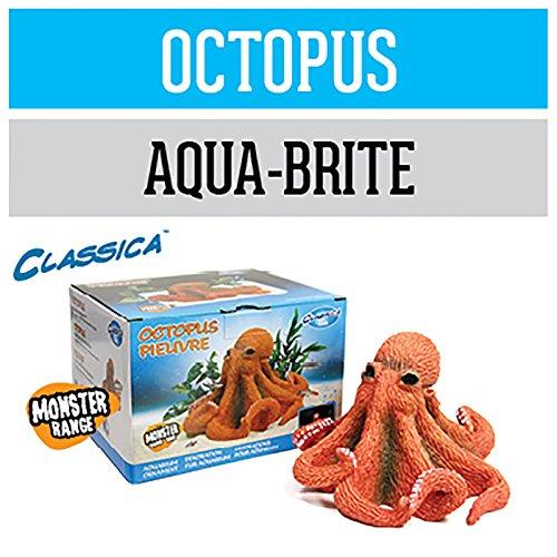Arcadia Oktopus CAD34 Deko Aquarium wasserfest für Meerwasser und Süßwasser optional LED beleuchtbar