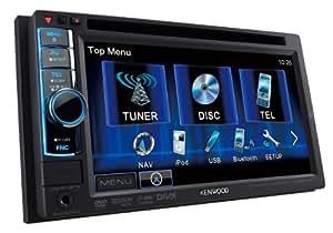"""Kenwood Electronics DDX4021BT Bluetooth Noir récepteur multimédia de voiture - récepteurs multimédias de voiture (4.0 canaux, K3I, FM,LW,MW, 87,5 - 108 MHz, 153 - 279 kHz, 15,5 cm (6.1""""))"""