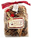 Christmas Spice Cottage Cones & Pods Scented Pot Pourri (large 500g in gift bag)