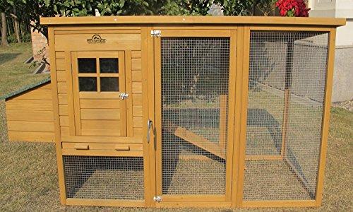 Pets Imperial® - Reich der Tiere® Monmouth Großer - Hühnerstall - für 2 bis 4 Hühner Hasen Geflügel Vögel - Je nach Größe - leicht zu reinigen - 2