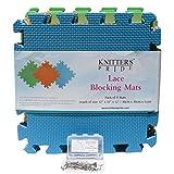 Knitters Pride Lace Blocking Mats & T-Pi...