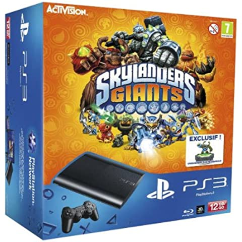 PlayStation 3 - Consola 12 GB + Skylanders Giants + Figuras