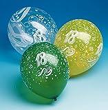 5 Zahlenluftballons 18.Geburtstag