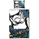 Star Wars Rebels Imperial Panel Print Juego de funda nórdica, polyester-cotton, multicolor, Single
