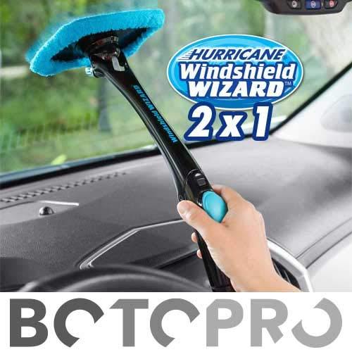 BOTOPRO - Hurricane Windshield Wizard 2x1, el Kit Limpiador de Parabrisas de Coches y Todo...