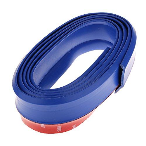 universal-pu-gummi-stossstange-korper-lippe-teiler-kinn-glanzend-trimmen-blau