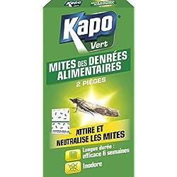KAPO Pièges à Mites Alimentaires Etui de 2