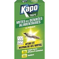 KAPO 3157 Pièges à Mites Alimentaires Etui de 2 - Lot de 2
