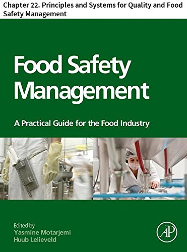 Food Safety Management: Chapter 22. Principles and Systems for Quality and Food Safety Management (English Edition) -