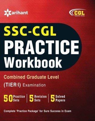 SSC CGL 50 Practice Workbook Combined Graduate Level Tier-I Examination