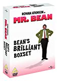 Mr Bean Complete Live Action Series DVD Collection [4 Discs] Box set - Vol 1, 2, 3, & 4 + 2 Episodes not seen on TV: The Library The Bus Stop + Extras