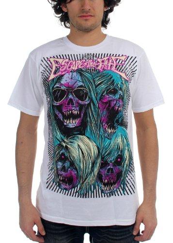 Escape the Fate-Escape ad maglietta da uomo in bianco, Bianco, Large
