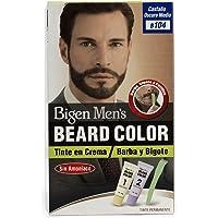 Bigen Bigen Men's Beard Color Natural Brown 20gm+20gm -B104, 40gm